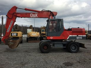 O&K MH 6 В наявності!! В Україні не працював excavadora de ruedas