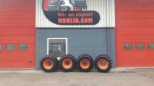 Tianli single tires 600/50x22.5 excavadora de ruedas