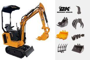 BERGER KRAUS Mini Excavator BK800BS torsion arm with FULL equipment miniexcavadora nueva