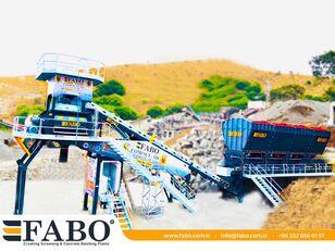 FABO  COMPACT-110 CONCRETE PLANT   CONVEYOR TYPE planta de hormigón nueva