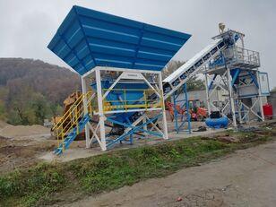 PROMAX Compact Concrete Batching Plant C60-SNG-PLUS (60m3/h planta de hormigón nueva