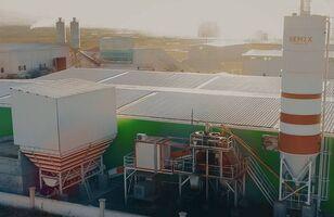 SEMIX Stationary 100 STATIONARY CONCRETE BATCHING PLANTS 100m³/h planta de hormigón nueva