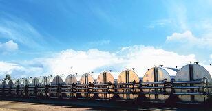 MARINI tankFALT - система термоизолированных резервуаров и трубопроводо silo de cemento nuevo
